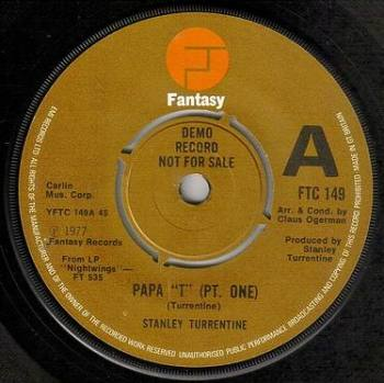 "STANLEY TURRENTINE - PAPA ""T"" - FANTASY DEMO"