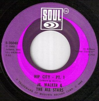 JR.WALKER - HIP CITY - SOUL