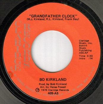 BO KIRKLAND - GRANDFATHER CLOCK - CLARIDGE