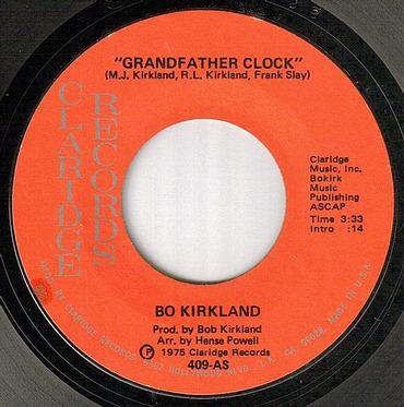 BO KIRKLAND - GRANDFATHER CLOCK - CLARIDGE