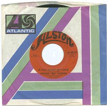 JIMMY BO HORNE - IF YOU WANT MY LOVE - ALSTON