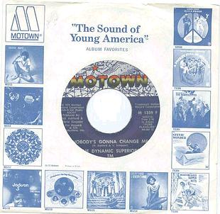 DYNAMIC SUPERIORS - Nobody's Gonna Change Me - Motown