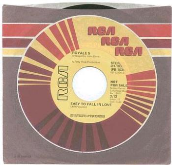 ROYALE FIVE - Easy To Fall In Love - RCA