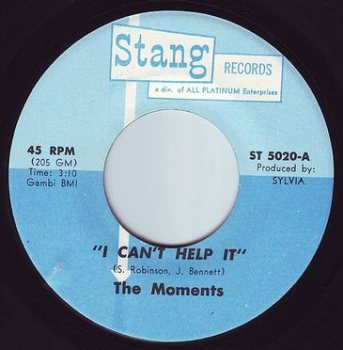 MOMENTS - I CAN'T HELP IT - STANG