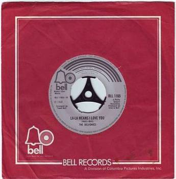 DELFONICS - LA-LA MEANS I LOVE YOU - BELL