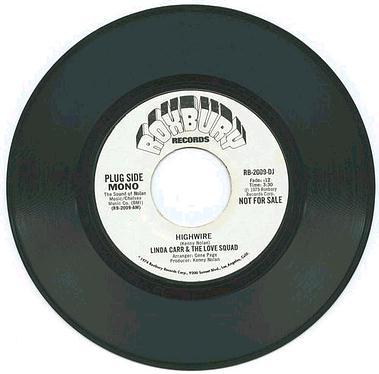 LINDA CARR - Highwire - Roxbury DJ