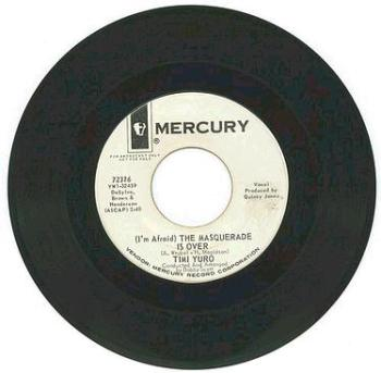 Timi Yuro - The Masquerade Is Over - Mercury DJ