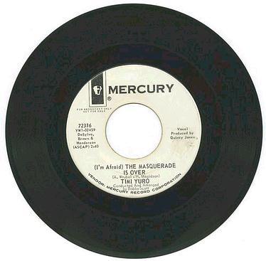Timi Yuro - The Masquerade Is Over - Mercury DJ