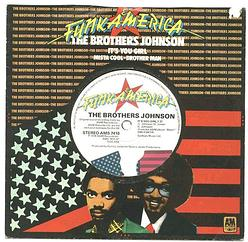 Brothers Johnson - It's You Girl - UK A&M