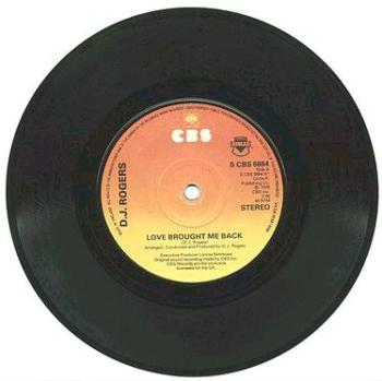 DJ Rogers - Love Brought Me Back - UK CBS