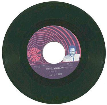 LLOYD PRICE - Little Volcano - TURNTABLE