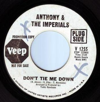 ANTHONY & THE IMPERIALS - DON'T TIE ME DOWN - VEEP DEMO