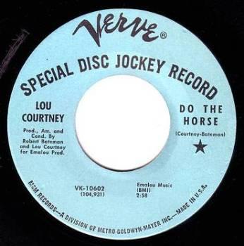 LOU COURTNEY - DO THE HORSE - VERVE DEMO