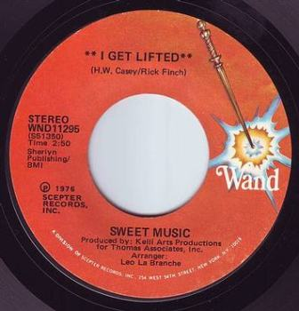 SWEET MUSIC - I GET LIFTED - WAND