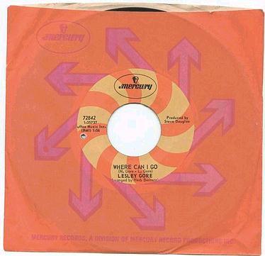 LESLEY GORE - Where Can I Go - MERCURY