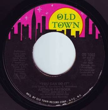 ARTHUR PRYSOCK - YOU CAN DO IT - OLD TOWN
