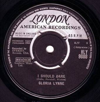 GLORIA LYNNE - I SHOULD CARE - LONDON