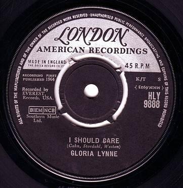 GLORIA LYNNE - I SHOULD CARE - LONDON