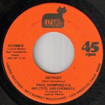 PAUL HUMPHREY - DETROIT - LIZARD