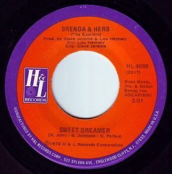 BRENDA & HERB - SWEET DREAMER - H&L