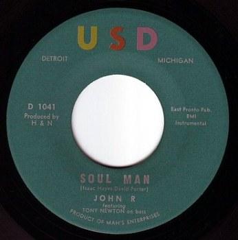 JOHN R - SOUL MAN - USD