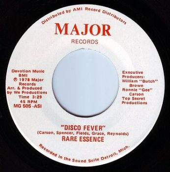 RARE ESSENCE - DISCO FEVER - MAJOR