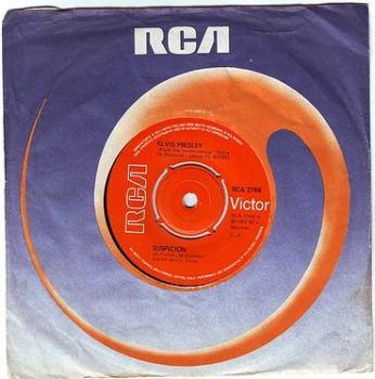 ELVIS PRESLEY - SUSPICION - RCA