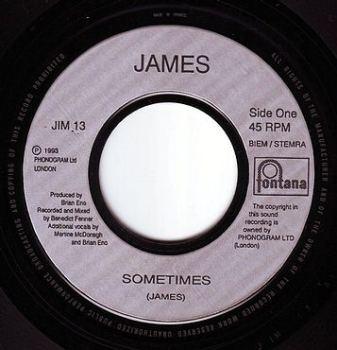 JAMES - SOMETIMES - FONTANA