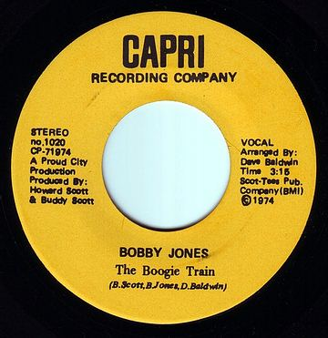 BOBBY JONES - THE BOOGIE TRAIN - CAPRI