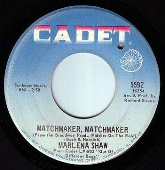 MARLENA SHAW - MATCHMAKER, MATCHMAKER - CADET