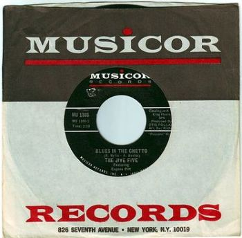 JIVE FIVE - BLUES IN THE GHETTO - MUSICOR