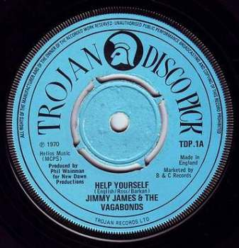 JIMMY JAMES - HELP YOURSELF - TROJAN
