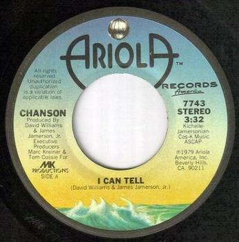 CHANSON - I CAN TELL - ARIOLA