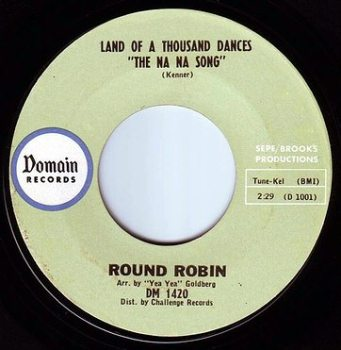ROUND ROBIN - LAND OF A THOUSAND DANCES - DOMAIN