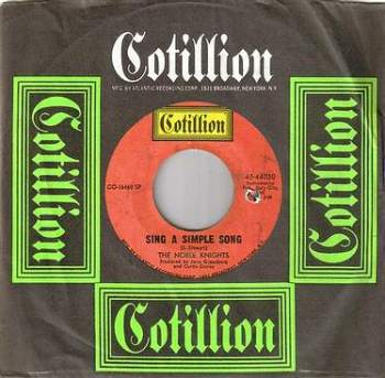 NOBLE KNIGHTS - SING A SIMPLE SONG - COTILLION