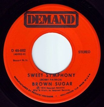 BROWN SUGAR - SWEET SYMPHONY - DEMAND
