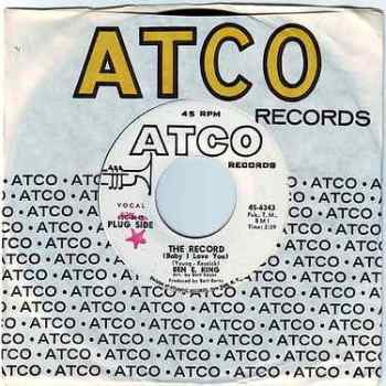 BEN E. KING - THE RECORD (Baby I Love You) - ATCO DEMO