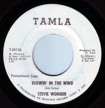 STEVIE WONDER - BLOWIN' IN THE WIND - TAMLA DEMO