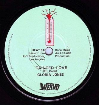 GLORIA JONES - TAINTED LOVE - INFERNO
