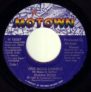 DIANA ROSS - ONE MORE CHANCE - MOTOWN