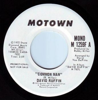 DAVID RUFFIN - COMMON MAN - MOTOWN DEMO