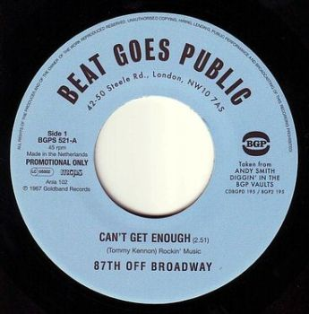 87TH OFF BROADWAY - CAN'T GET ENOUGH - BGP DEMO