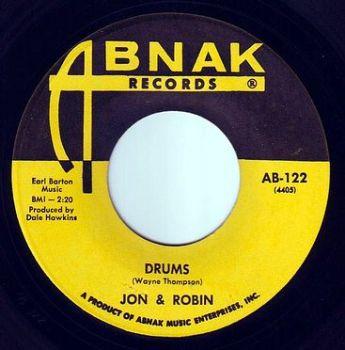 JON & ROBIN - DRUMS - ABNAK