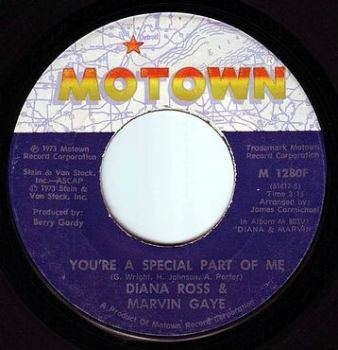 DIANA ROSS & MARVIN GAYE - YOU'RE A SPECIAL PART OF ME - MOTOWN