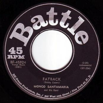 MONGO SANTAMARIA - FATBACK - BATTLE