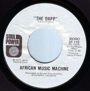 AFRICAN MUSIC MACHINE - THE DAPP - SOUL POWER DEMO
