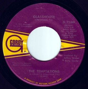TEMPTATIONS - GLASSHOUSE - GORDY