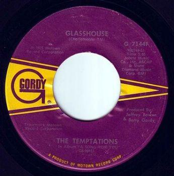 TEMPTATIONS - GLASSHOUSE - GORDY