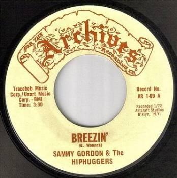 SAMMY GORDON - BREEZIN' - ARCHIVES