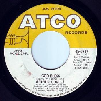 ARTHUR CONLEY - GOD BLESS - ATCO